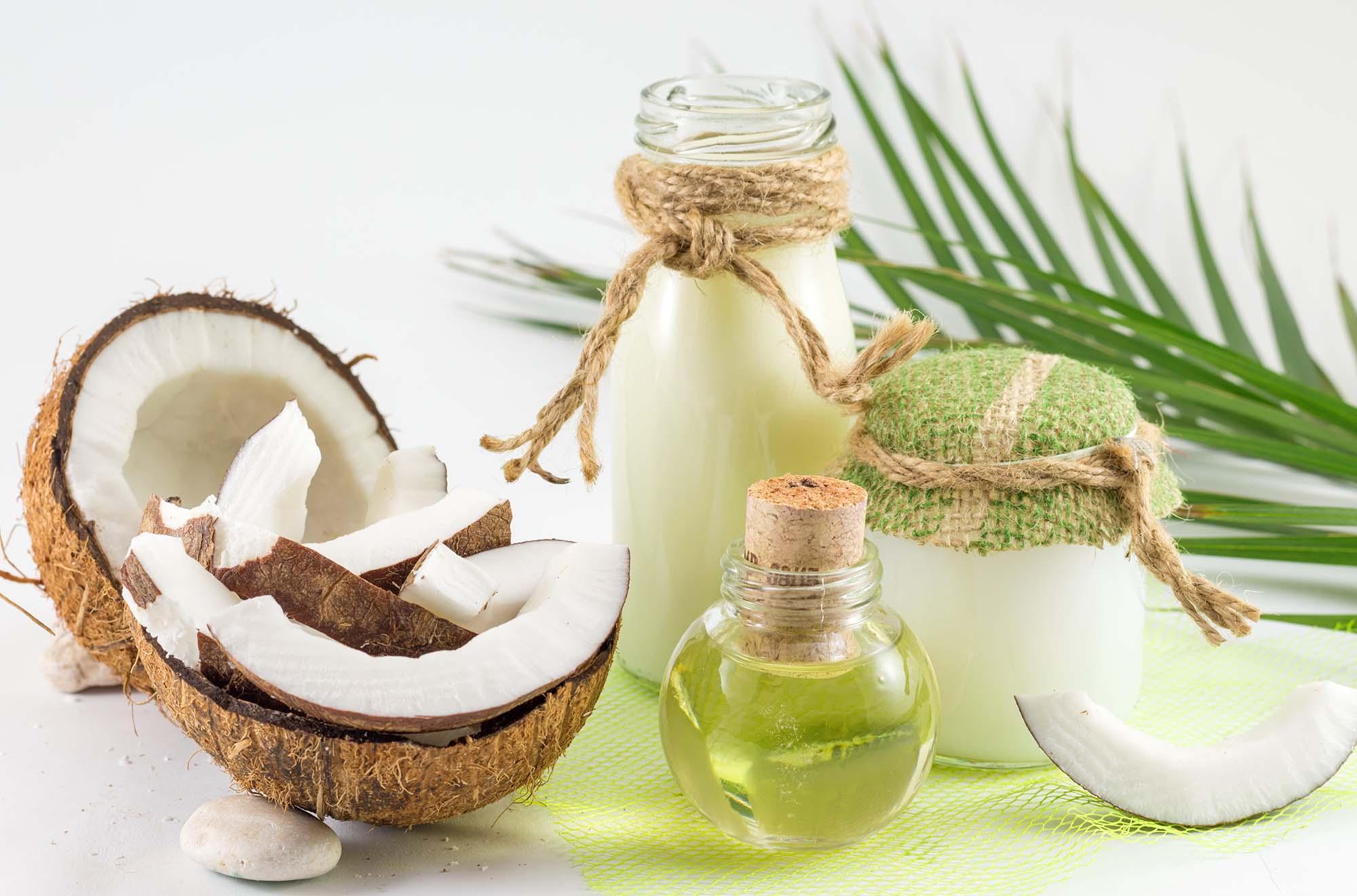 Panenský kokosový olej
